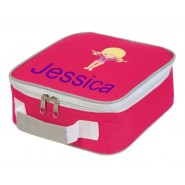 Gymnast Any Name Lunch Box Cooler Bag