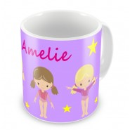 Gymnasts + Name Mug
