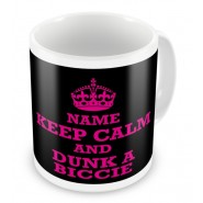 Keep Calm Any Text Mug