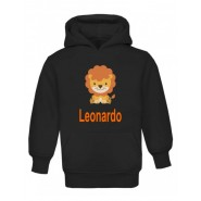 Lion Any Name Childrens Hoodie