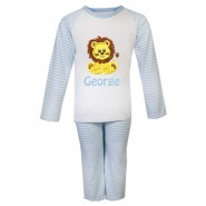 Lion Any Name Embroidered Pyjamas