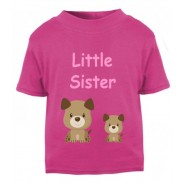 Little / Big Sister Childrens Printed T-Shirt