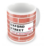 London Street Sign Any Text Mug