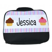 Cupcakes Any Name Lunch Bag