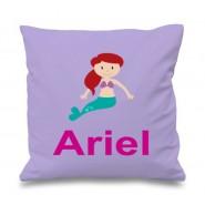 Mermaid Any Name Printed Cushion