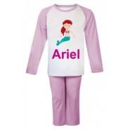 Mermaid Any Name Childrens Pyjamas