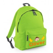Monkey Any Name Childs Rucksack