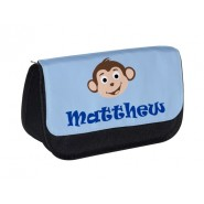 Monkey Any Name Pencil Case