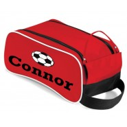 Name + Football Design Boot / Shoes Bag