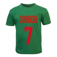 Number + Any Name Childrens Printed T-Shirt