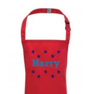 Any Name Stars Child's Apron
