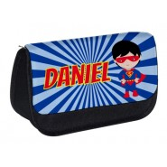 Super Hero Any Name Pencil Case