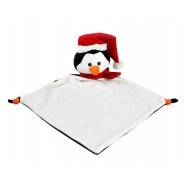 Christmas Penguin Comfort Blanket