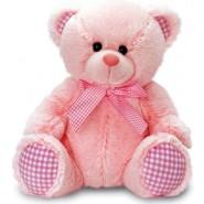 Pink Gingham Bear