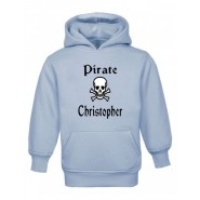 Pirate / Skull Any Name Childrens Hoodie