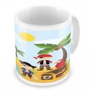 Pirates + Name Mug