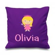 Princess Any Name Printed Cushion