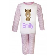 Puppy Dog Any Name Childrens Pyjamas