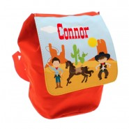 Cowboys Any Name Toddler Backpack