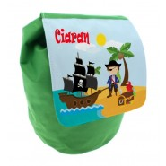 Pirates Any Name Toddler Backpack