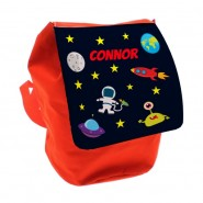 Outer Space Any Name Toddler Backpack