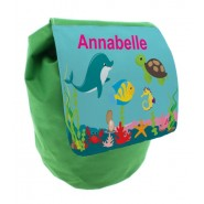 Under The Sea Any Name Toddler Backpack