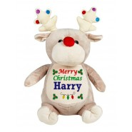 Baubles The Beige Christmas Reindeer