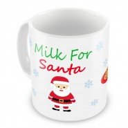 Milk For Santa Any Message Mug