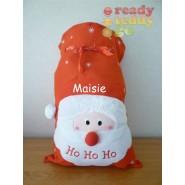 Ho Ho Ho Christmas Santa Sack