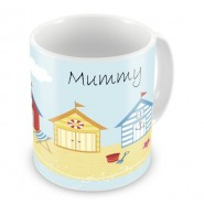 Seaside Beach Holiday Any Name Mug
