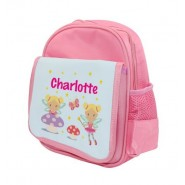 Fairies Any Name Childs Backpack