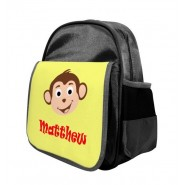 Monkey Any Name Childs Backpack