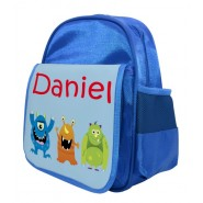Monsters (Boy) Any Name Childs Backpack