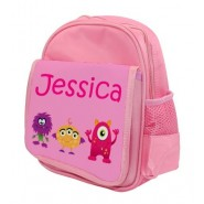 Monsters (Girl) Any Name Childs Backpack