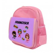 Super Heroes Girls Any Name Childs Backpack