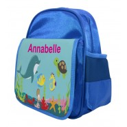 Under The Sea Any Name Childs Backpack