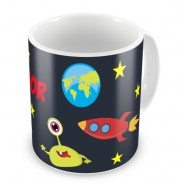 Outer Space Any Name Mug