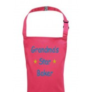 Any Name Star Baker Child's Apron