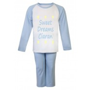 Sweet Dreams Any Name Childrens Pyjamas