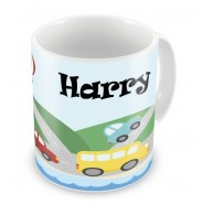 Transport Any Name Mug