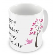 Trees Any Text Mug