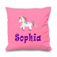 Unicorn Any Name Printed Cushion