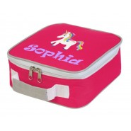 Unicorn Any Name Lunch Box Cooler Bag