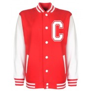 Personalised Junior Stanford Red Varsity Jacket