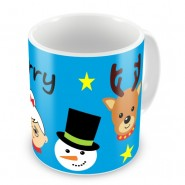 Santa's Buddies Christmas Any Name Mug
