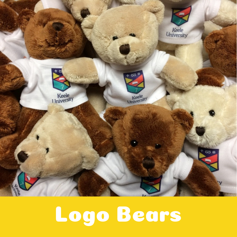 Promotional Corporate Logo Teddy Bears