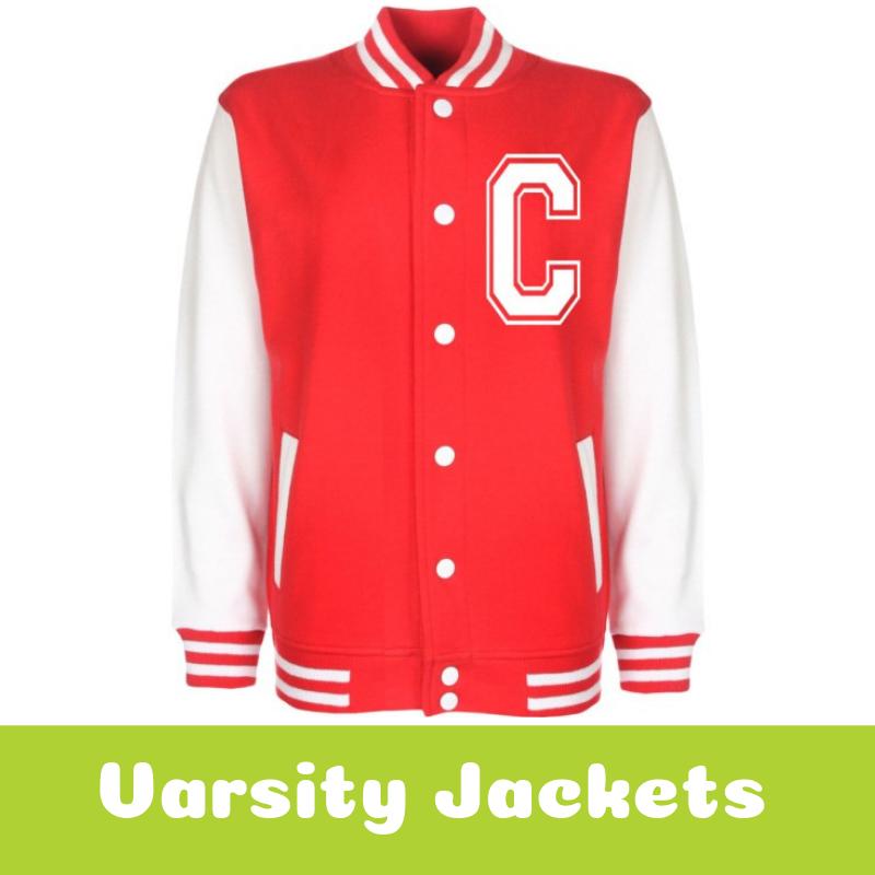 Personalised Varsity Jackets for Children
