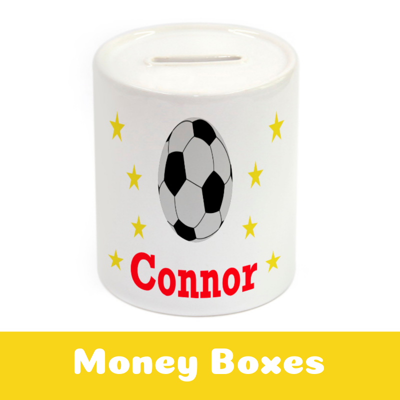 Personalised Money Boxes for Kids