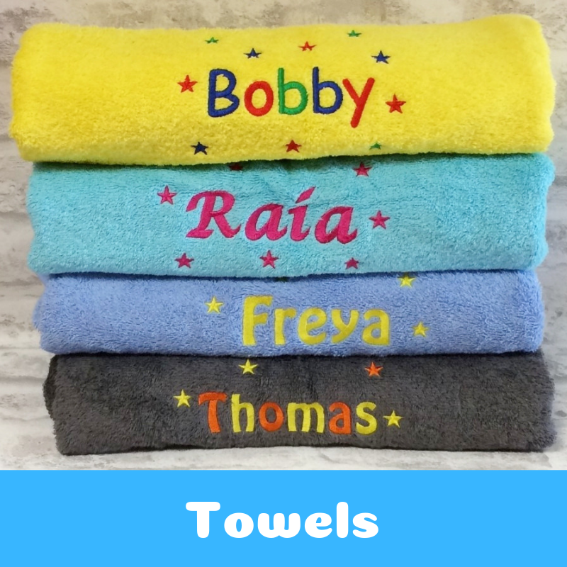 Personalised Bath Towels