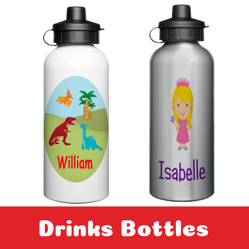 Personalised Drinks Bottles for Kids Back To School
